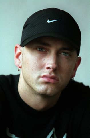 006120.CA.0411.eminem4.gf Eminem is a rap star and one of the most noteworthy figures in all of cont