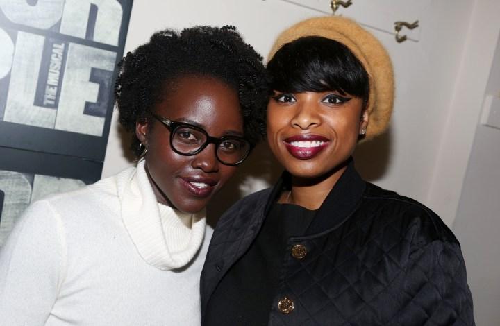 Lupita Nyong'o and Jennifer Hudson