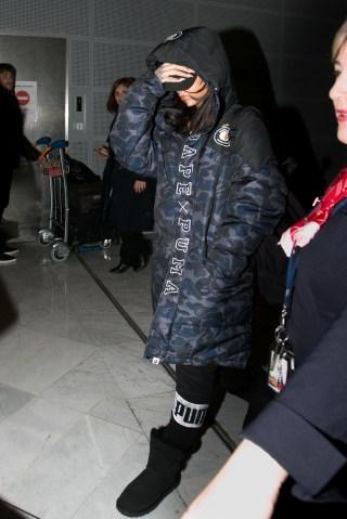 Celebrity Sightings In Paris January 23, 2016