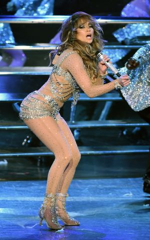 Jennifer Lopez Launches 'JENNIFER LOPEZ: ALL I HAVE' At Planet Hollywood In Las Vegas - Show