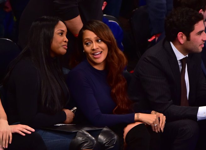 Celebrities Attend The Utah Jazz Vs New York Knicks Game - January 20, 2016