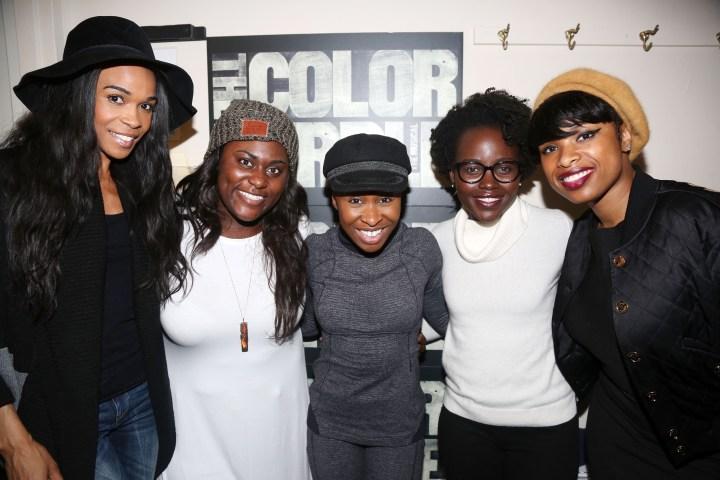 Celebrities Visit Broadway - January 16, 2016