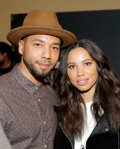 Jussie Smollett With Sister Jurnee Smollett-Bell