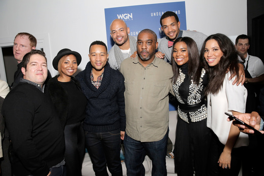"Cast of WGN's New Series ""Underground"" Dazzles At Sundance"