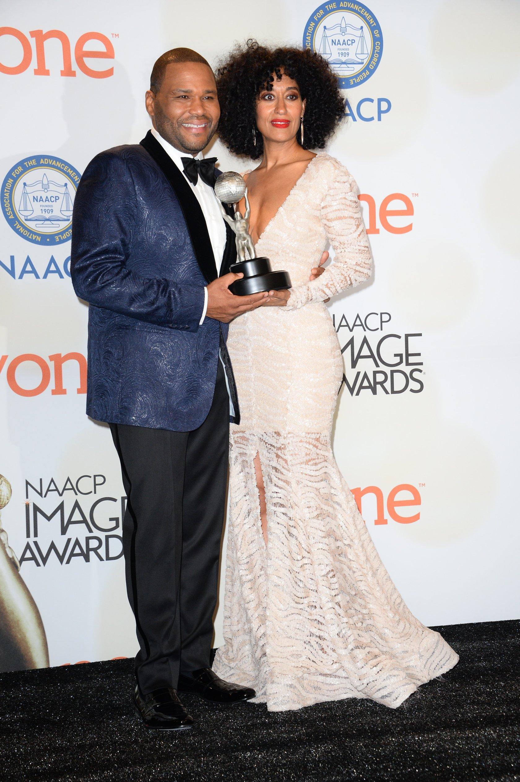 US-ENTERTAINMENT-NAACP IMAGE AWARDS-PRESS ROOM