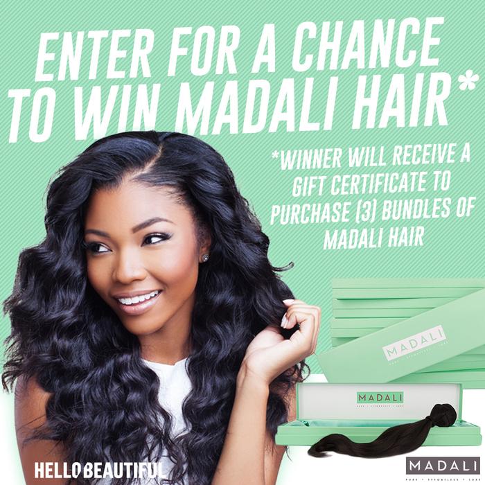 Madali Hair Contest Graphic