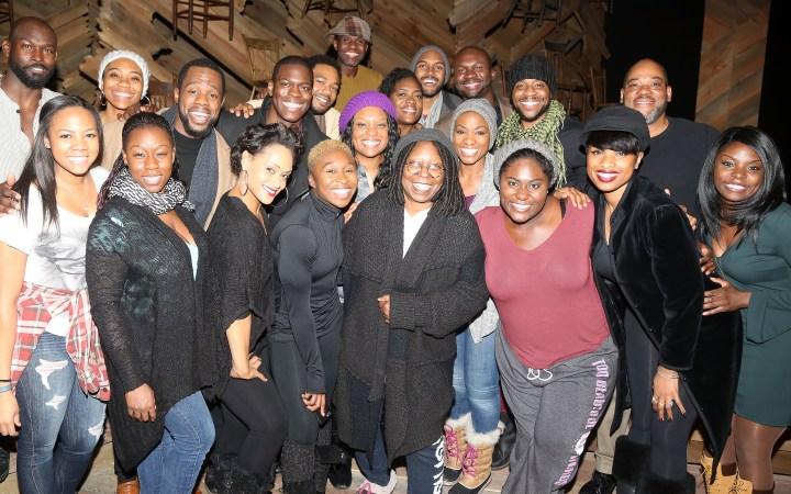 Celebrities Visit Broadway - January 26, 2016