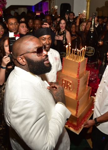 Rick Ross Private Birthday Affair