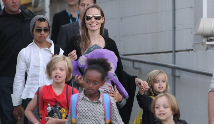 Angelina Jolie Arrives In Sydney