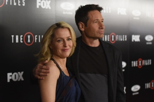 Premiere Of Fox's 'The X-Files' - Red Carpet