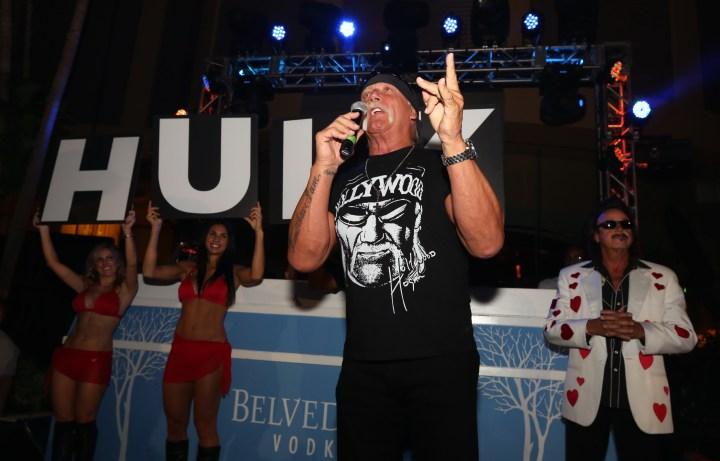 Hulk Hogan hosted at the Pool After Dark, Harrah's