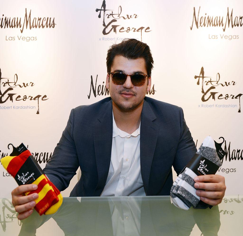 Rob Kardashian Unveils New Collection At Neiman Marcus
