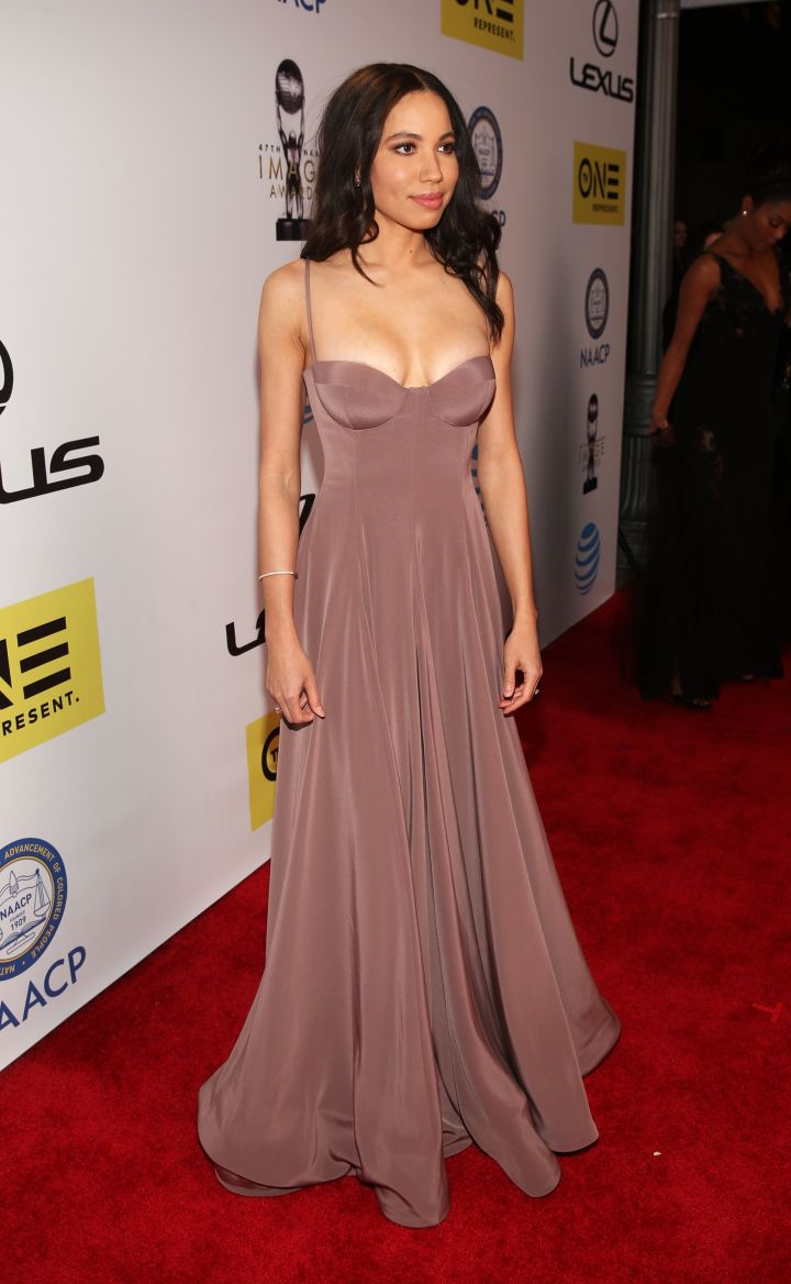 Jurnee Smollett-Bell attends the 47th NAACP Image Awards