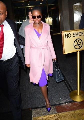 Celebrity Sightings in New York City - February 3, 2016