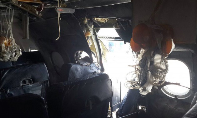 Explosion on airliner in Somalia