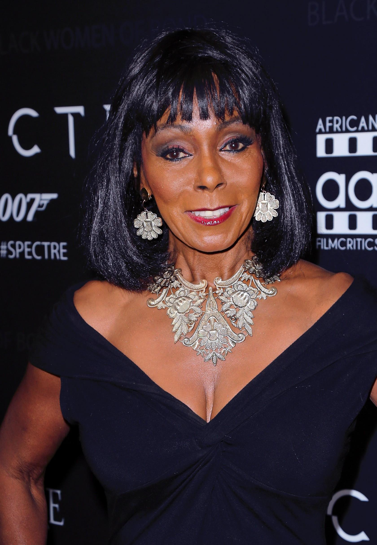 'Spectre' - The Black Women Of Bond Tribute - Arrivals