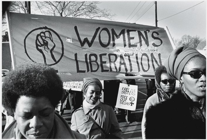 'Women's Liberation' In Support Of Black Panthers