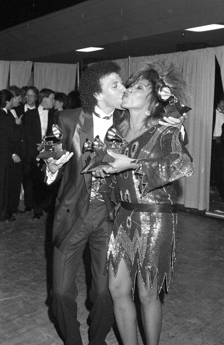 Tina Turner & Lionel Ritchie, 1985 Grammys