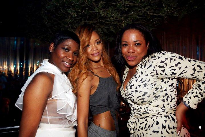 Ursula Stephen and Rihanna