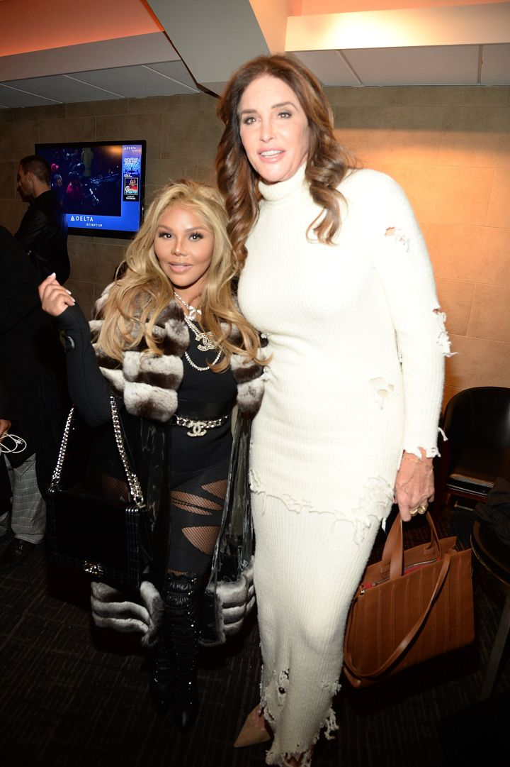 Lil Kim and Caitlyn Jenner