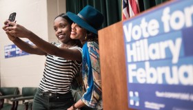 Celebrities Campaign for Hillary Clinton in SC