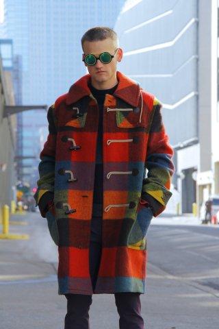 Street Style - Day 2 - New York Fashion Week: Men's Fall/Winter 2016