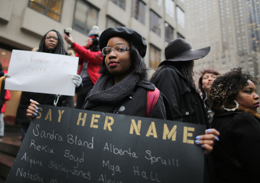 Anti-Anti Beyonce Protest Rally At NFL Headquarters