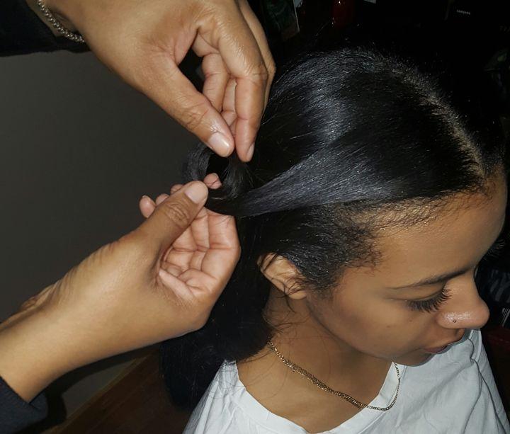 Pincurls – Step 2