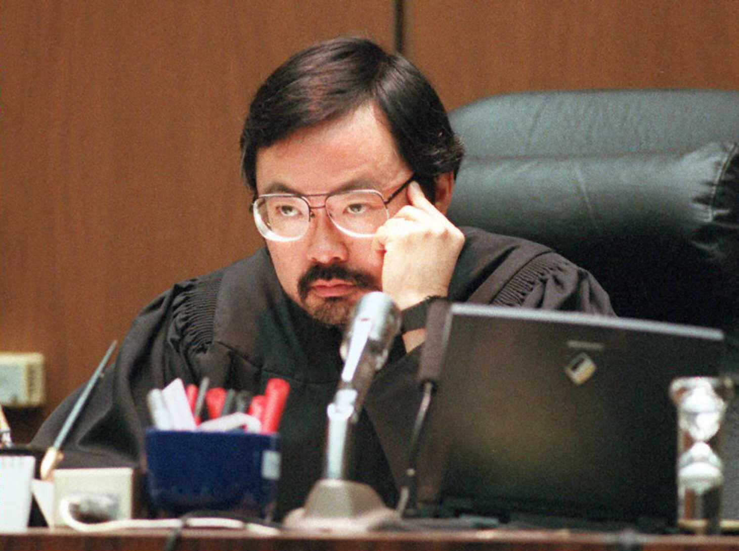 Judge Lance Ito listens to defense motions to excl