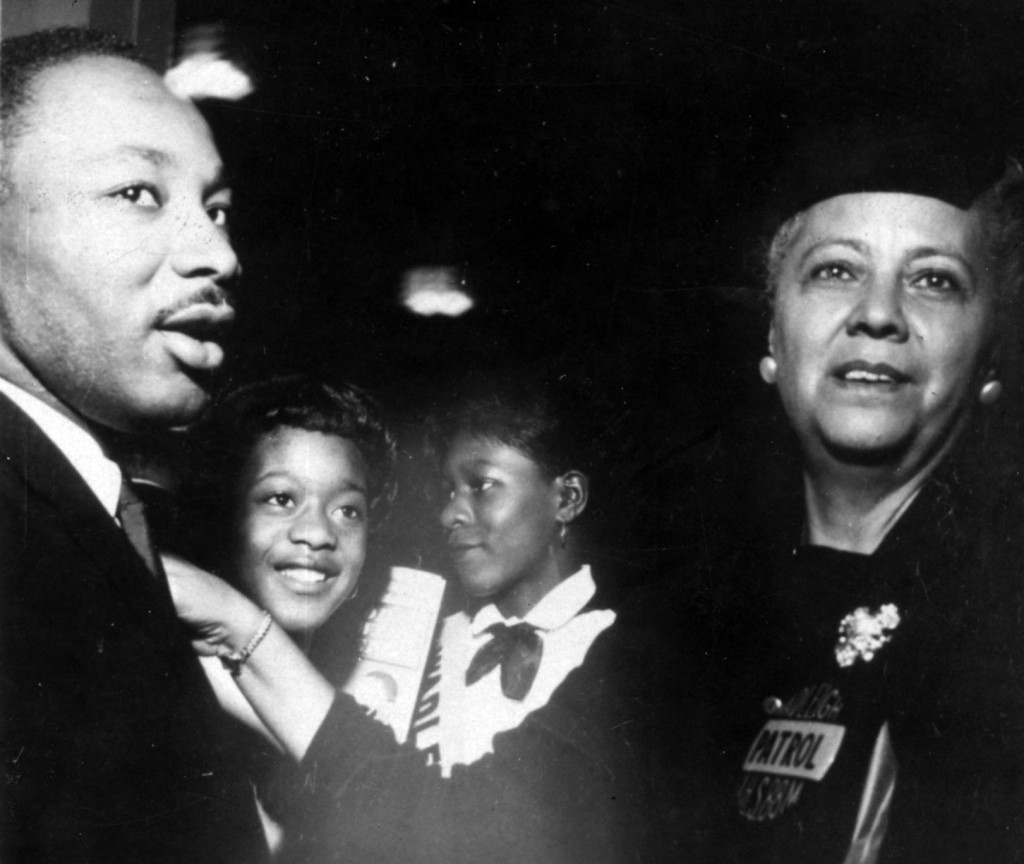 MLK & Hedgeman With Students