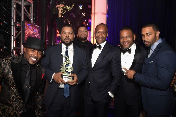 Will Packer, Ice Cube, O'Shea Jackson Jr., Jeff Friday, Anthony Anderson & Omari Hardwick