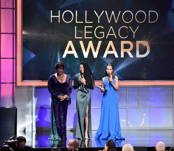 Loretta Devine, Keke Palmer & Kerry Washington