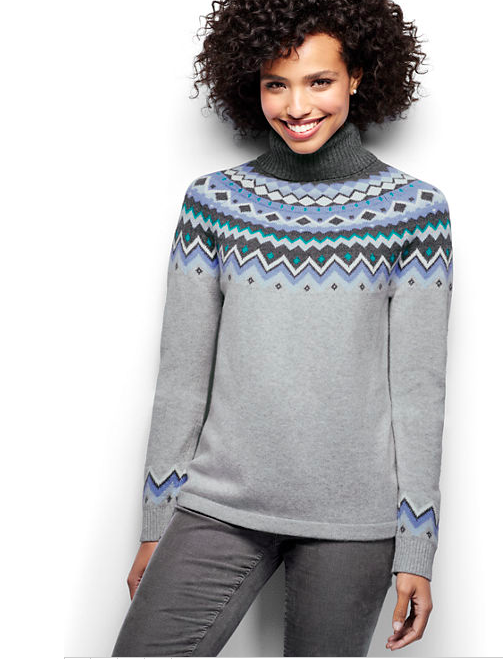 Fair Isle Turtleneck