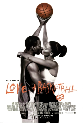 Poster For 'Love And Basketball'