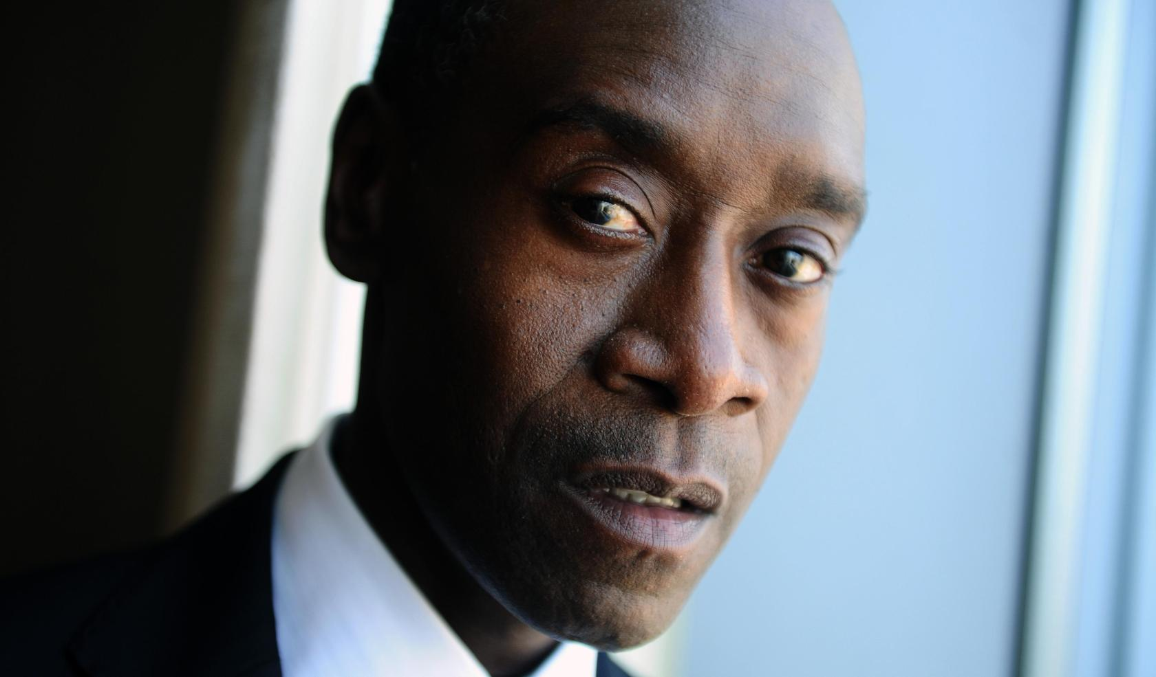 Actor Don Cheadle Promoting Film Iron Man 3