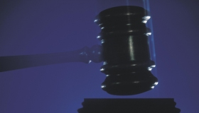 Gavel pounding
