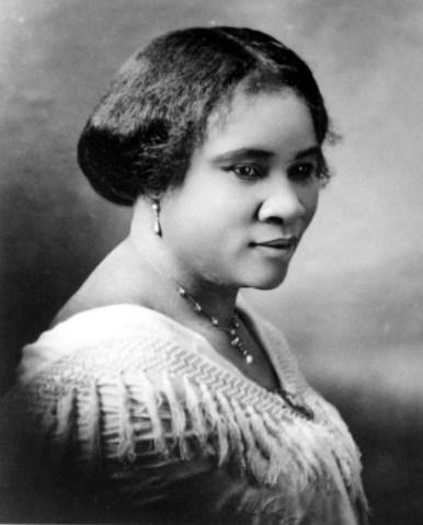 Madam C.J. Walker Portrait