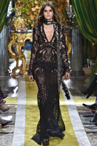 Roberto Cavalli - Runway - Milan Fashion Week FW16