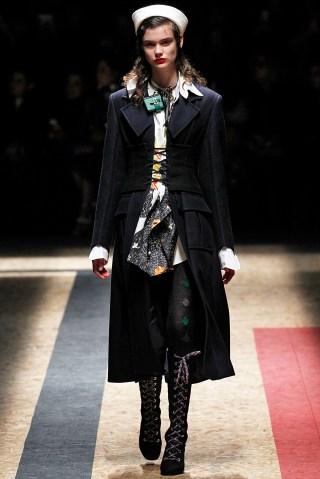 Prada - Runway - Milan Fashion Week FW16