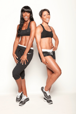Kelly Rowland and Jeanette Jenkins