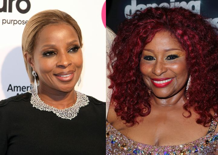 Mary J Blige remembered powerful advice she received from Chaka Chan.