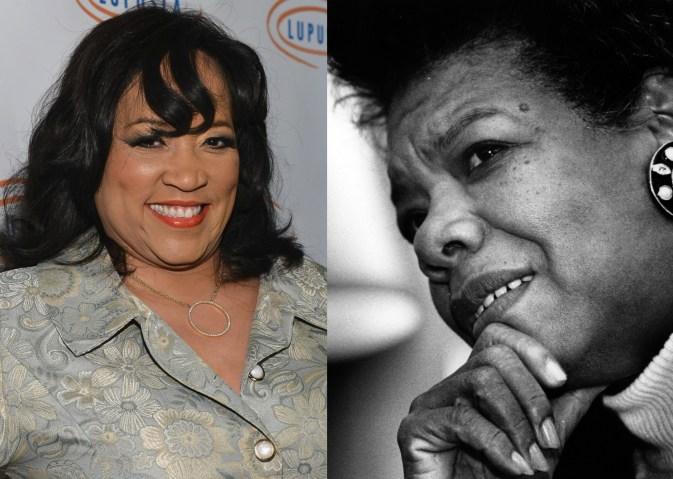Jackee Harry/ Maya Angelou