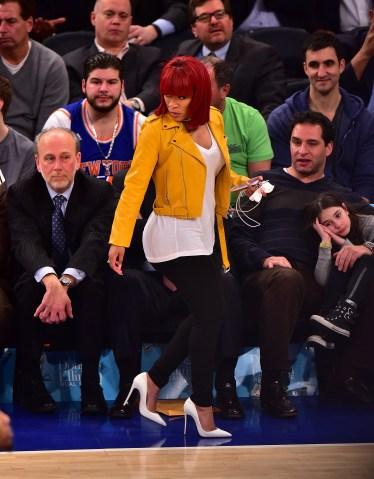 Celebrities Attend The Portland Trail Blazers Vs New York Knicks Game - March 01, 2016