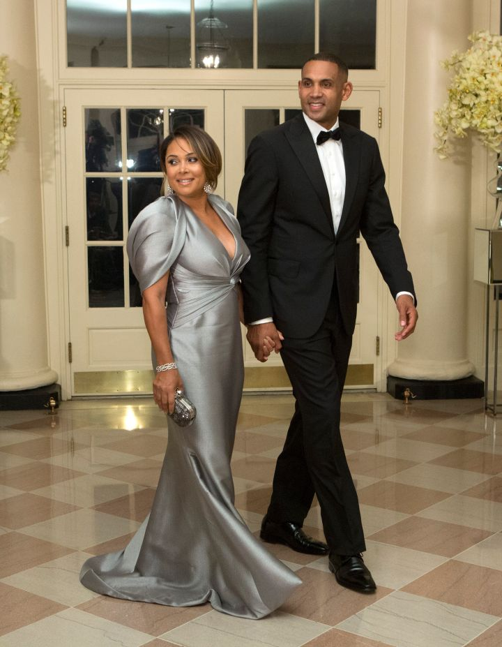 Grant Hill & Tamia Looked Gorgeous