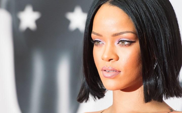 Rihanna at the 2016 BRIT Awards