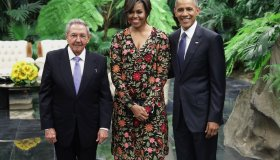 Cuban Leader Raul Castro Hosts State Dinner For President Obama