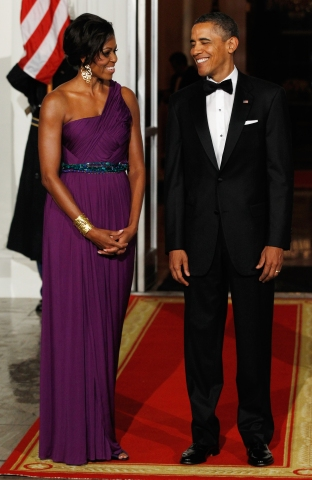 President And Mrs. Obama Receive South Korean President For Official State Visit