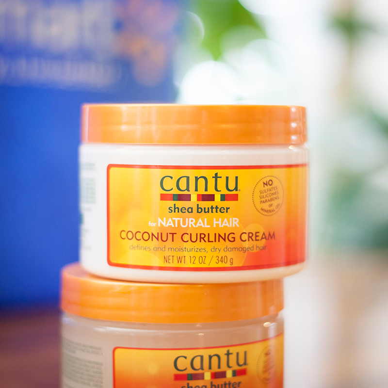 Cantu Shea Butter For Natural Hair Coconut Curling Cream