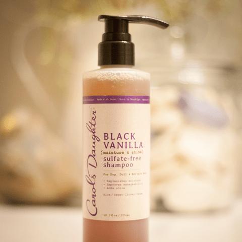 Carol's Daughter Black Vanilla Sulfate-Free Shampoo