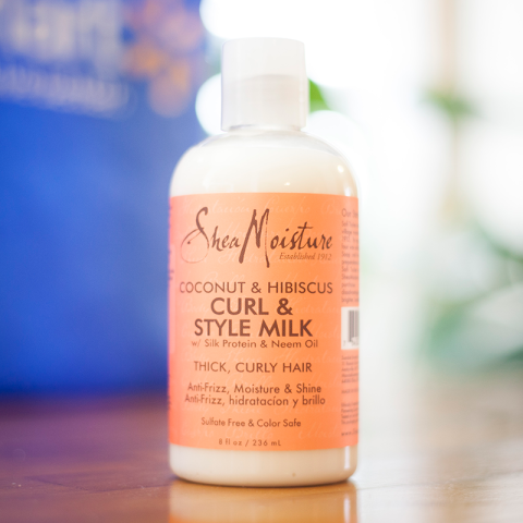 Shea Moisture Coconut & Hibiscus Curl + Style Milk